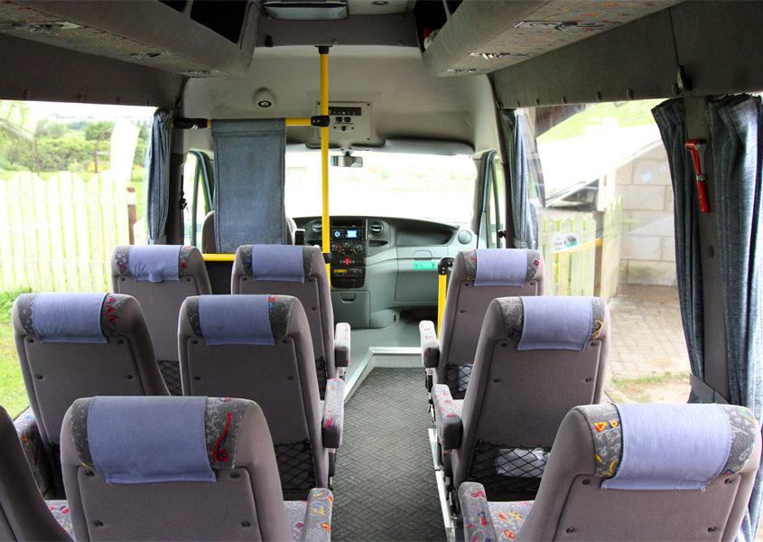 Busside tellimine - 19 kohaline buss